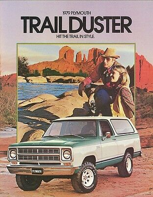 1979 Plymouth Trail Duster (NOS) Sales Brochure
