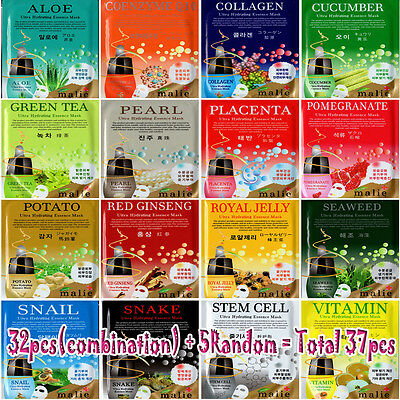 Ultra Hydrating Essence Face Mask Sheet Pack Korea Cosmetic Facial Skin Care
