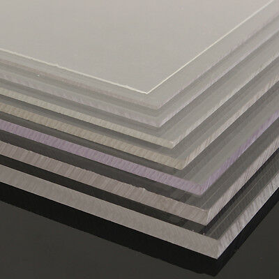 1-10mm A2 420x594mm Acrylic Perspex Sheet Cut to Size Panel Plastic Satin Gloss