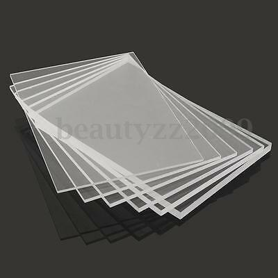 3-10mm A5 148x210mm Acrylic Perspex Sheet Cut to Size Panel Plastic Satin Gloss