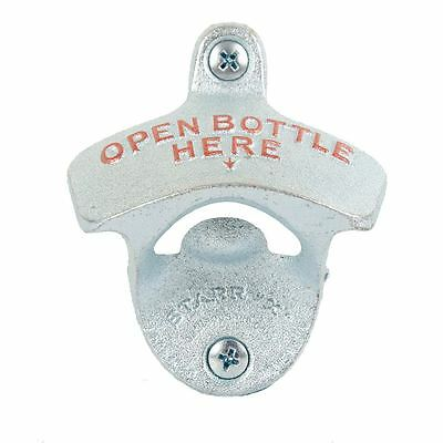 NPW Starr Open Bottle Here Wall Mounted Bottle Opener
