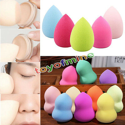 2 X Makeup Foundation Sponge Blender Puff Flawless Powder Smooth Beauty CLR.RND