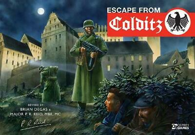 Escape from Colditz: 75th Anniversary Edition by Pat Reid (English) Board Games