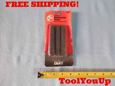 """New 4"""" Medium Grit Replacement Stones For 2833 Engine Cylinder Hone Made In Usa"""