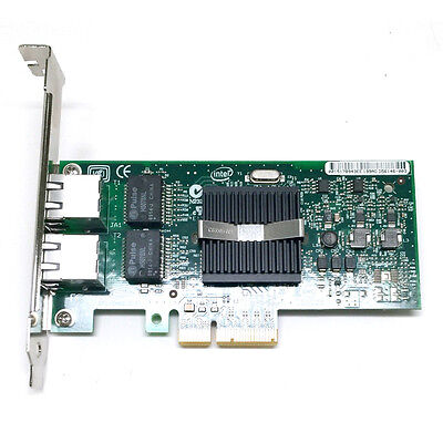 Intel Gigabit Dual PORT GIGABIT ETHERNET PCIe NIC Card EXPI9402PT NC360T