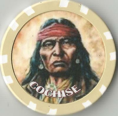 Cochise  Collector  Chip Chief Of Chiricahua Apache