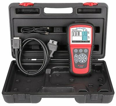 Autel.Us Md802 All Systems Advance Graphing Obdii Scan And Code Clearing Tool