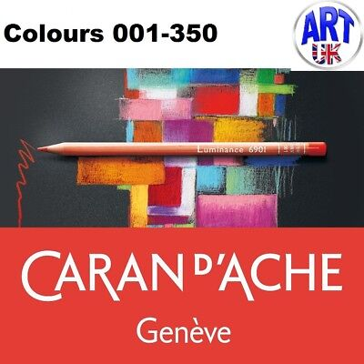 Caran d'Ache LUMINANCE 6901 artists quality permanent lightfast coloured pencils