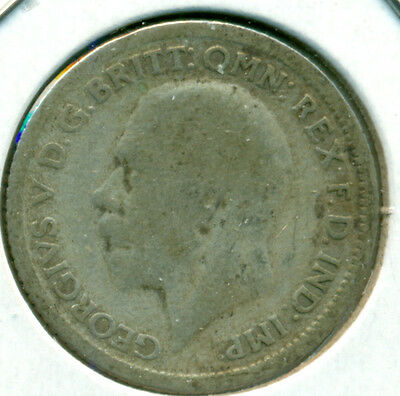 1929 Uk/gb Sixpence, Great Price!
