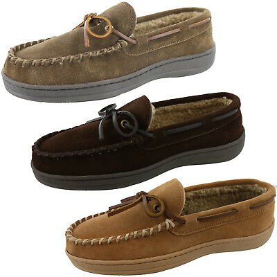 Men's Clarks Rudy 219-211 Moccasin Slippers