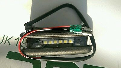 Land Rover Defender 90, 110, LED Rear Number Registration Plate Light, BA9715