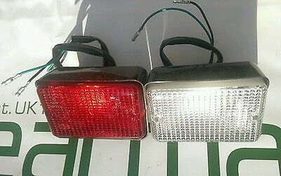 Land Rover Series 3, Reverse Light & Fog Lamp, Bulb Type Fitment BR1361R,BR1327R