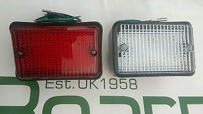 Land Rover Series 3, LED Reverse Light & Fog Lamp, Bearmach Brand BA9716R,BA9717