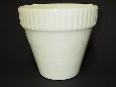 Rare Akro Agate Cream Colored # 295 Combo Pot