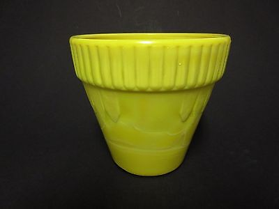 Rare Akro Agate Yellow Colored # 295 Combo Pot  / 2 Known
