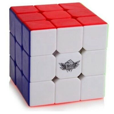 Cyclone Boys Magic Cube Stickerless 3x3 Speed cube 3x3x3 Puzzle Twist Colorful