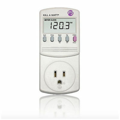 Kill A Watt Appliance Home Energy Power Electrical Usage Meter Monitor Tester