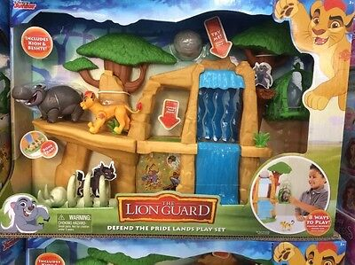 Disney Junior's Lion Guard Defend The Pride Lands Play Set (3+Years)