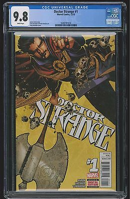 Doctor Strange #1 (CGC 9.8 NM/MT) (Marvel 2015) New Movie! Sold Out 1st Print!