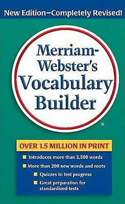 Merriam-Webster's Vocabulary Builder by Mary Wood Cornog (English) Mass Market P