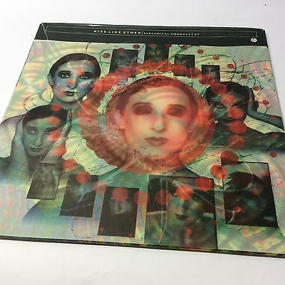 Claudia Brucken 'Kiss Like Ether (Electrical Embrace)' EX/EX Pascal G Vinyl LP