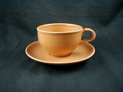 Russel Wright IROQUOIS Casual China- NUTMEG Cup(s) & Saucer(s)