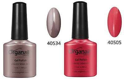 2X Vernis a ongle semi-permanent Rouge Tropix - Rubble