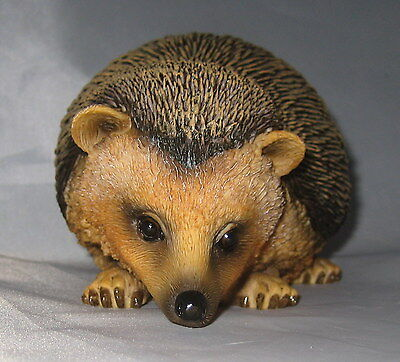 HEDGEHOG Statue Large Figurine Detailed Hedgie Sculpture Animals New