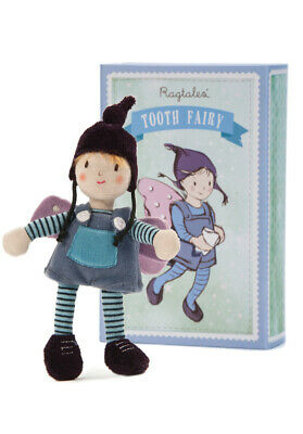 New Ragtales Tooth Fairy Boy Doll Soft Toy in Storage Gift Box 0m+