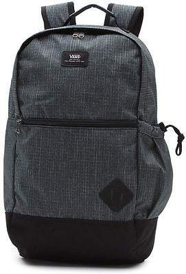 NWT VANS Van Doren II BACKPACK School Book Bag PACK Gray TRAVEL Gym Beach Sport