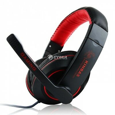 Stereo Bass Headphone Headset Earphone With Microphone for Laptop PC Mac Fashion