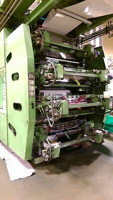 Uteco Amber 808 Flexographic CI Printing Press Model 1000
