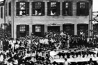 New 5x7 Photo: Republican Rally at Abraham Lincoln Home, Springfield