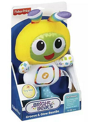 Fisher-Price Bright Beats Groove & Glow BeatBo Child Toy New Beat Bo