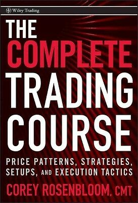 The Trading Course by Corey Rosenbloom Hardcover Book (English)