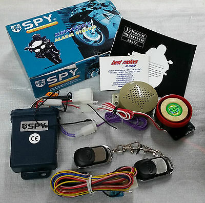 Antifurto Elettronico Moto Scooter Spy Lm210 Anti Theft Shock Motorcycle Alarm
