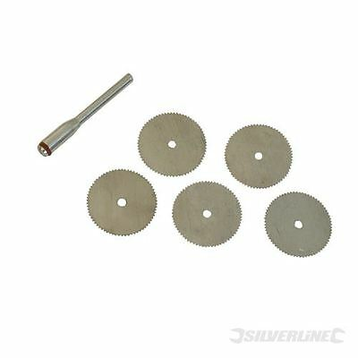 Steel Cutting Discs 6 piece kit for Dremel and Hobby Silverline 656628