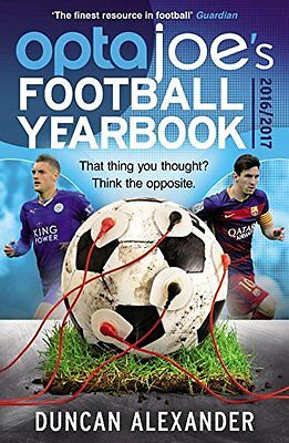 OptaJoes Football Yearbook 2016: That thing you thought? Think the opposite.,PB