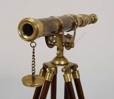 Collectibles Harbour Master Brass Telescope - Nautical Master Brass Telescope