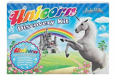 Unicorn Discovery Kit Stickers Card Journal Novelty Gift