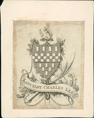 Lancelot Charles Lee. Shield Squirrel  JD.1260