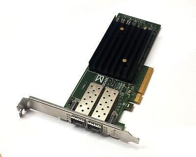 Brocade 1020 10 Gigabit 10GBe 10Gbit Dual Port Converged Server Adapter PCIe x8