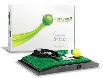 Complete Golf simulator Optishot2 with 15 Courses & Net Cage & Tee shot pads