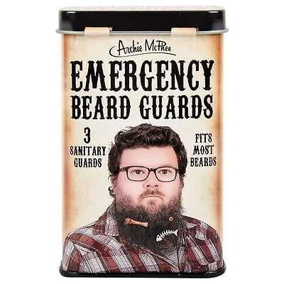 Emergency Beard Guards in Tin Protective Net Cover Novelty Gag Gift