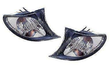 Bmw 3 Series E46 4 Door 2001-2005 Front Clear Indicator Left & Right Pair