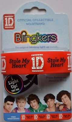 One Direction 1D Official Collectible Flashing Wristband Various designs gift