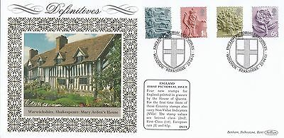 (93118) GB England Benham FDC D374 65p E 1st 2nd - Windsor 23 April 2001