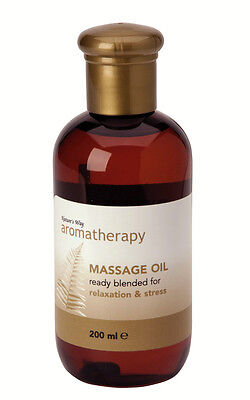 Natures Way Aromatherapy Relaxation & Stress Massage Oil For Body & Mind NWA0280