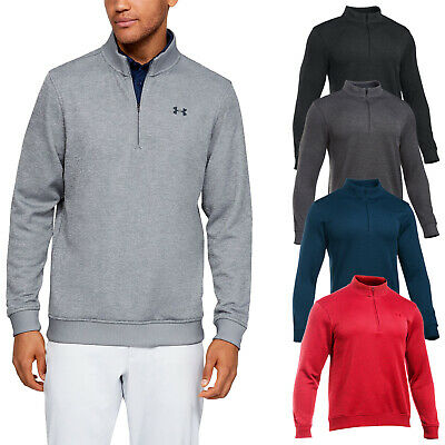 2018 Under Armour Mens Storm Sweater Fleece Half Zip Top - UA Golf Pullover Warm