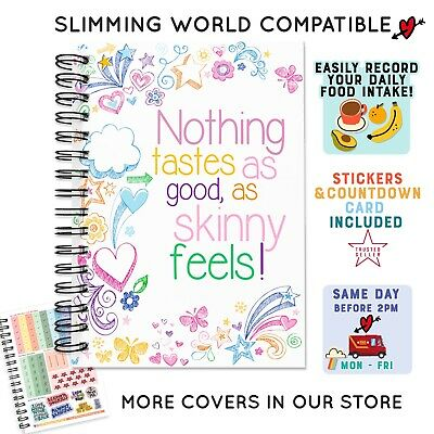 My Diet Diary Weight Loss Journal Sw Compatible Speed Easy 12 Weeks Countdown A5